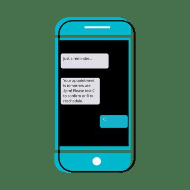 Text Message Gradient Instagram Post