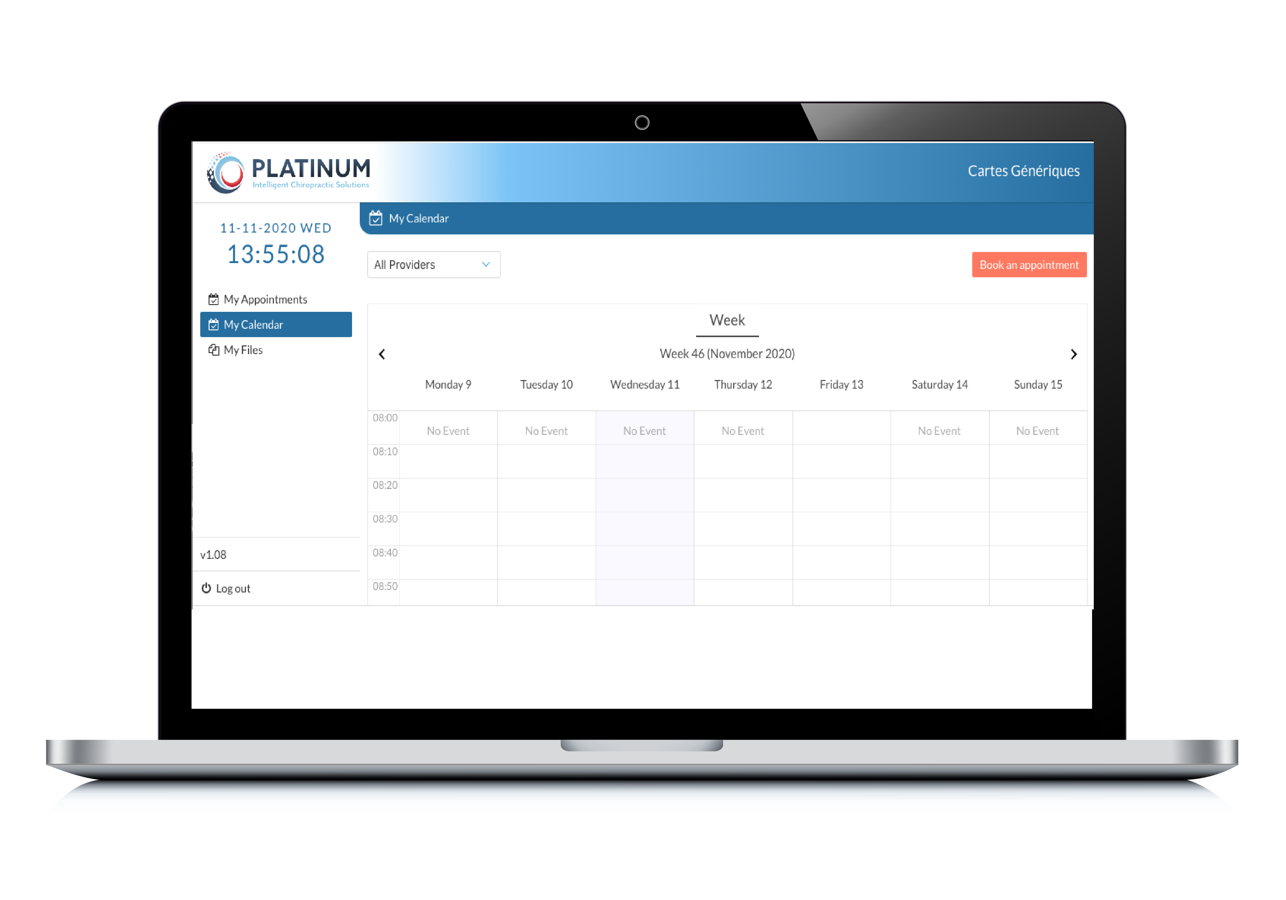 Transition to Platinum as your new chiropractic software